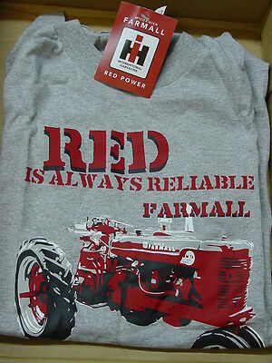 "International Harvester ""red Is Always Reliable"""" T-Shirt, New"