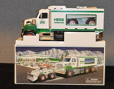 2008 Hess Truck and Front Loader