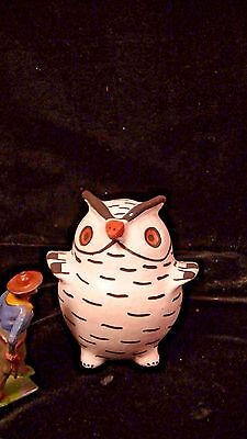 Native American Pottery Owl by Marie Z. Chino Acoma.