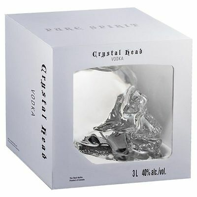 CRYSTAL HEAD VODKA 3L 40% alc