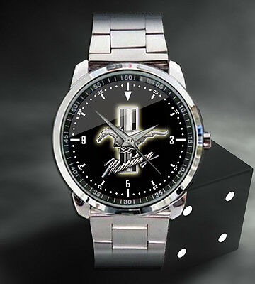 2017 Ford Mustang Shelby GT350R Sports Car Sport Metal Watch