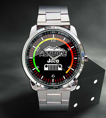 Jeep Wrangler Unlimited 4x4 Style Sport Metal Watch