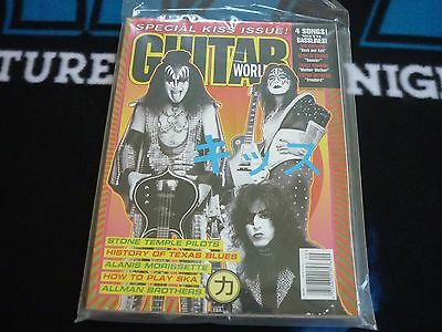 "KISS Guitar World ""Special Kiss"" Issue Sept.1996 w/ Poster! Mint!"