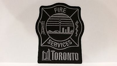 Toronto Fire Subdued Patch *** Recently Released ***