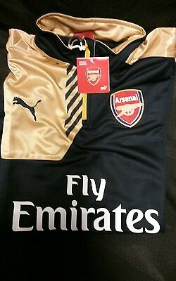 ARSENAL PUMA Dry-Cell Tech BRAND NEW 2015/16 Large/XL replica training tracksuit