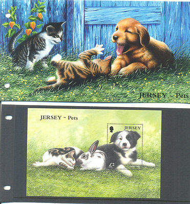 Jersey-Pets Min sheet 2003-Dogs- Cats-Rabbits-presentation pack