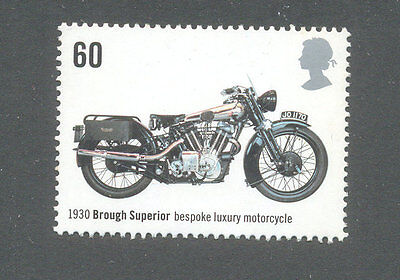 Motorcycle-brough Superior mnh - Great Britain -Motorbikes