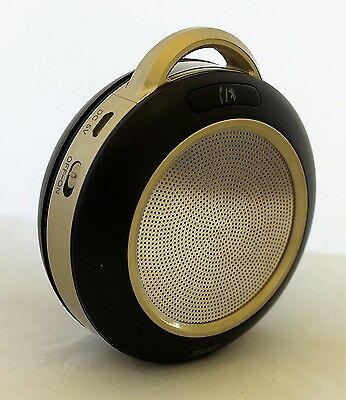 Portable Personal Bluetooth Speaker Stereo Music Mobile Phone Sound -Gold 3SIXT
