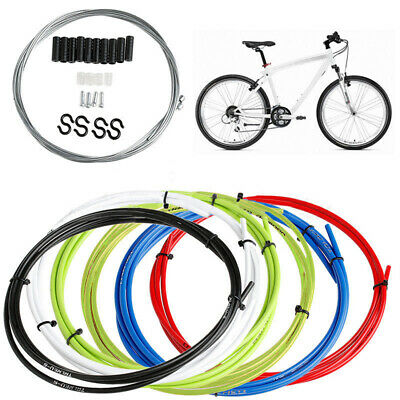 MTB Bike Front Rear Inner Outer Wire Brake Gear Shifter Cable Housing Kit