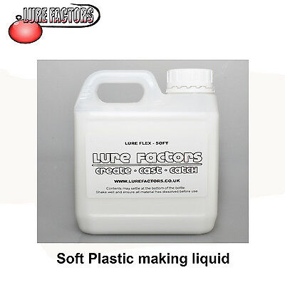 5Ltr SOFT GRADE LIQUID SOFT PLASTIC PLASTISOL FOR MAKING  SOFT BAIT  LURES