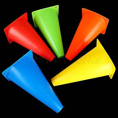 "9"" 23cm Sports Training Safety Cones Markers Football Soccer Roller Wholesale"