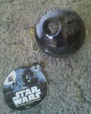 Death Star  Star Wars Rogue One  Christmas Bauble With Cookie