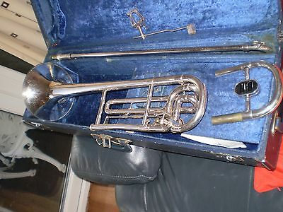 Trombone Bb & F Large Bore Boosey & Hawkes Sovereign alternatively Bb
