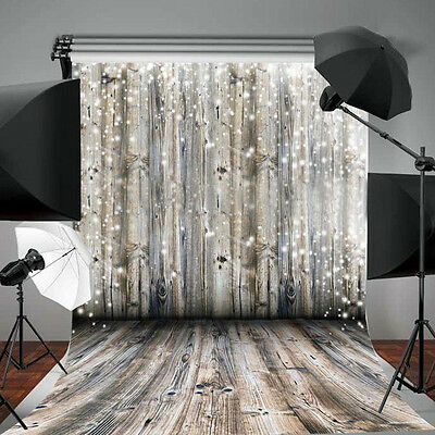 3x5ft Wood Wall Floor Studio Props Photography Vinyl Background Photo Backdrops▪