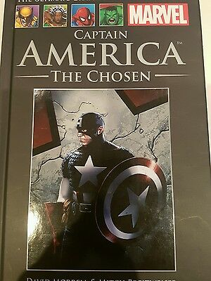 Marvel Ultimate Graphic Novel Collection 54 Captain America The Chosen