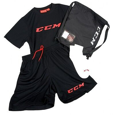 CCM Dryland Kit:T-Shirt, Shorts, Socks, Bag size  junior best gift and present