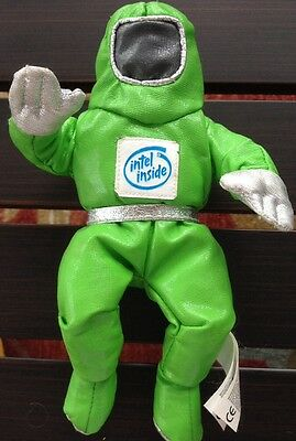 Bright Green 'intel Inside' Plush + Beanbag Astronaut Awesome!!