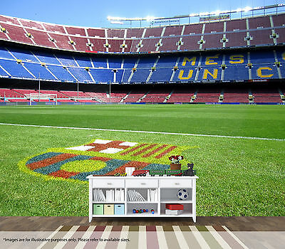 Camp Nou Wall Art Mural Barcelona FC Quality Pastable Wallpaper Decal Bedroom
