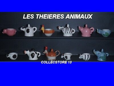 Serie Incomplete De Feves Les Theieres Animaux
