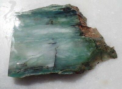 60g Australian CHRYSOPRASE mineral specimen collection lapidary rough lot EB09