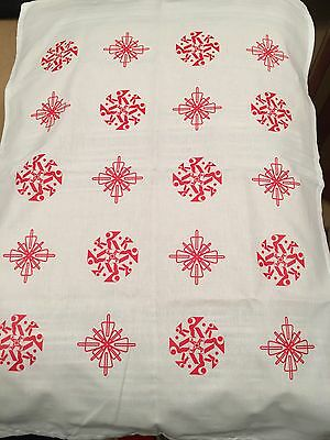 Kylie Minogue - Christmas 2016 Official Tea Towel Snowflake Sold Out Rare
