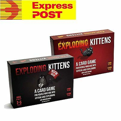 Exploding Kittens Nsfw & Original Edition (Dual Pack)