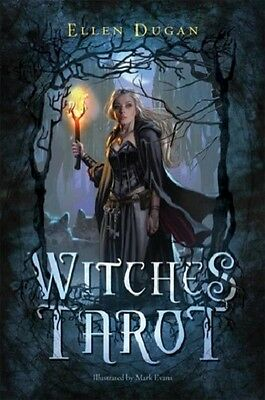Witches Tarot KIT Deck & Book Wiccan Pagan Metaphysical