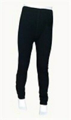 *NEW* Steiner Kids Soft-Tec Thermal Base Layer | Longjohns | Black | 3-13 yrs