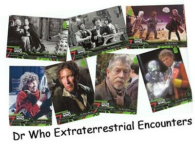 Doctor Who Extraterrestrial Encounters - 100 Card Basic/Base Set - 2016 - Dr Who