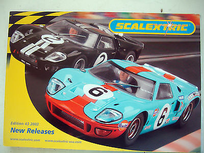 Scalextric 43rd New Releases Catalogue 1/32 Slot Cars Mint Colour Ex Shop Stock