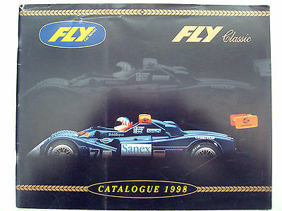 Scalextric FLY 1998 Full Catalogue 1/32 Slot Cars V/Good Colour Ex Shop Stock