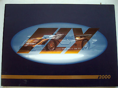 Scalextric FLY 2000 Full Catalogue 1/32 Slot Cars Mint Colour Ex Shop Stock