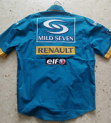 Camisa oficial F1 Renault Fernándo Alonso