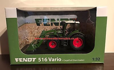 Universal Hobbies 1/32 Scale Fendt 516 Vario With Front Loader *brand New Model*