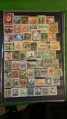 60 timbres du Chili (Lot 28)