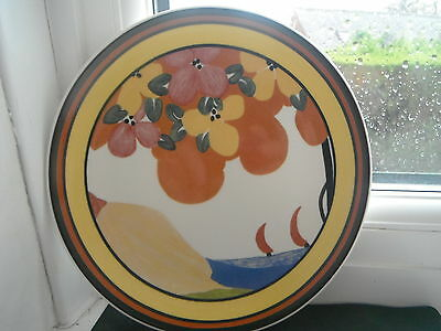 """CLARICE CLIFF """"PALERMO"""" PLATE -   by WEDGWOOD"""
