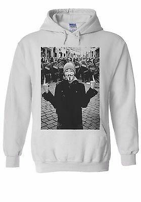 Anonymous Vendetta Protest Fun Cool Men Women Unisex Top Hoodie Sweatshirt 1315