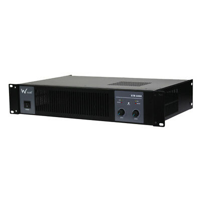 W Audio XTR-1000 Power Amplifier
