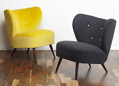 50s Vintage Retro Mid Century Chair Cocktail Bartolomew Armchair
