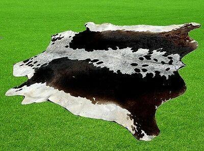 "New Cowhide Rugs Area Cow Skin Leather 33.92 sq.feet (74""x66"") Cow hide MB-9261"