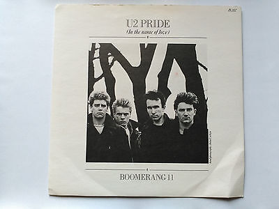 Single U2 - Pride (In The Name Of Love) - Island Uk 1984 Vg+