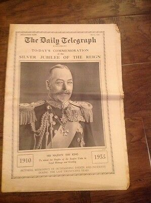The Daily Telegraph - May 6th 1935 George V Jubilee Supplement