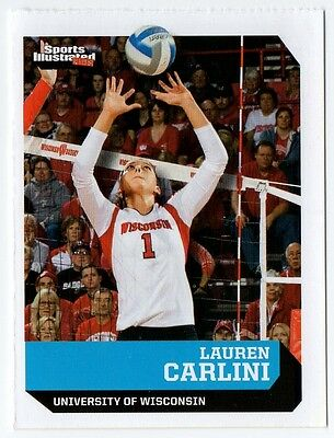 Lauren Carlini SI Sports Illustrated for Kids Volley Ball Univ of Wisconsin