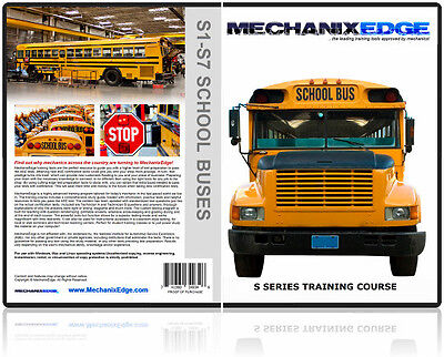 ASE SCHOOL BUS Certification Test Program S1 S2 S3 S4 S5 S6 S7 Study Guide CD
