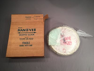 NEW BOX SEALED Vintage 1982 Hanover Diet Coke First Year Round Clock NEVER USED