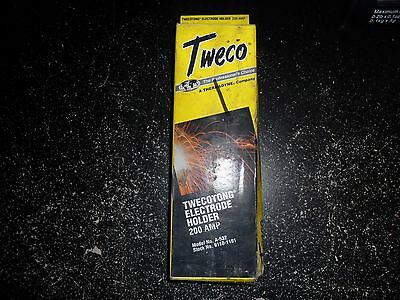 TWECO A-532 TWECOTONG ELECTRODE HOLDER STOCK#9110-1101 200 AMP New old stock