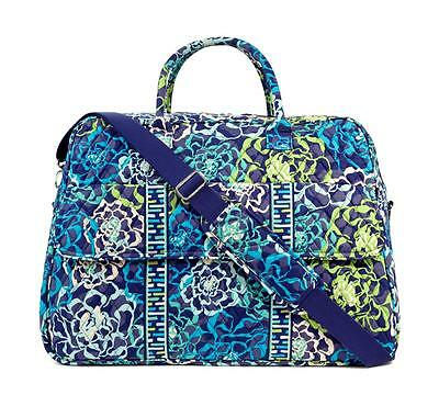 NWT SOLD OUT - Vera Bradley Grand Traveler Travel Bag / Luggage - KATALINA BLUES