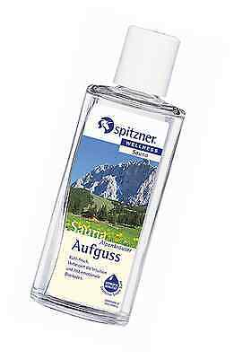 Alpine Herbs Sauna Infusion (190 ml) from Spitzner