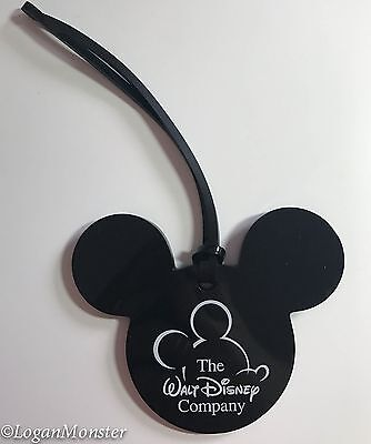Walt Disney Company Mickey Mouse Luggage Tag Cast Member Exclusive