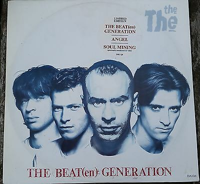 """Job Lot Collection of 4 The The 12"""" Vinyl Records Some Limited diff Tracks Cards"""